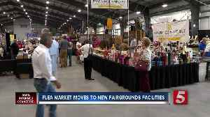 Nashville flea market moves to new facilities at Fairgrounds [Video]