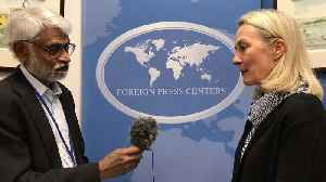 IANS Exclusive Interview | India critical to bring peace to Afghanistan: Alice Wells [Video]