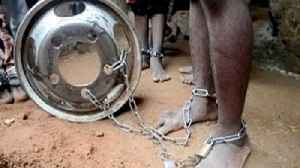 Hundreds of chained captives released from Nigerian school [Video]