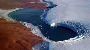 Glacier Melt Exposes Ice From Ancient Times [Video]