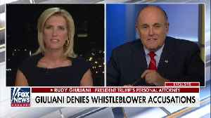 Rudy Giuliani tells State Dept. officials to step forward with truth [Video]