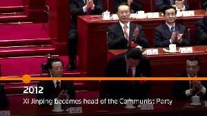 Timeline: Seven decades of Communist China [Video]