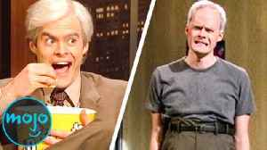 Top 10 Best Bill Hader Impressions [Video]