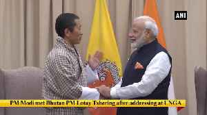 PM Modi meets his Bangladeshi, Bhutanese counterparts in New York [Video]
