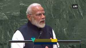 News video: India giving inspiration to world by carrying out biggest cleanlness drive PM MOdi at UNGA