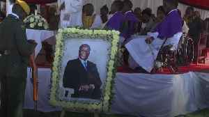 Robert Mugabe buried in grounds of rural home [Video]