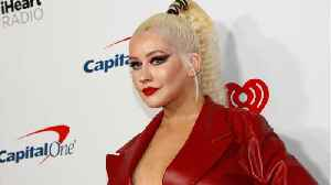 Christina Aguilera Writes Song For 'The Adams Family' [Video]