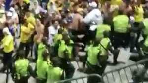 Reportan fuertes disturbios en las afueras del estadio Alfonso López de Bucaramanga [Video]
