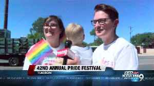 Thousands come out to Tucson's pride event [Video]