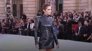 Cheryl and Helen Mirren on star-studded catwalk in Paris [Video]