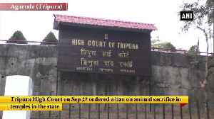 High Court bans animal sacrifice in temples of Tripura [Video]