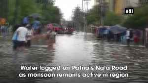 SDRF team conducts rescue operations in Patna [Video]