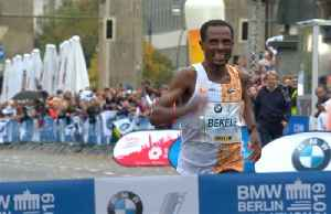 Bekele narrowly misses world record in Berlin marathon win [Video]