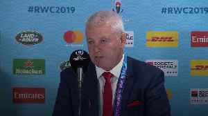 Gatland: Wales have earned right to celebrate [Video]