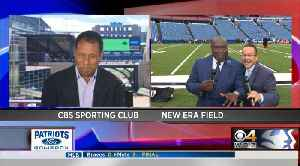 Patriots GameDay: Levan Reid, Mike Reiss Feeling A Groove In Buffalo [Video]