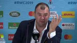 Cheika: RWC referees 'seem spooked' [Video]