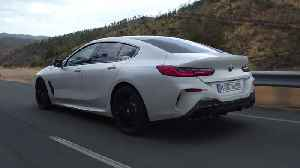 The new BMW 8 Series driving in the country [Video]