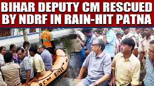 Bihar Dy CM Sushil Modi rescued by NDRF from home in rain-hit Patna   Oneindia News [Video]