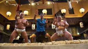 Novak Djokovic tries sumo wrestling ahead of the Japan Open [Video]
