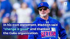 Chicago Cubs Let Go of Manager Joe Maddon [Video]