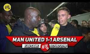 Man United 1-1 Arsenal   Leno Made A Fantastic Save To Stop Rashford's Free Kick! [Video]