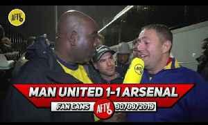 Man United 1-1 Arsenal | Aubameyang Would Score Weekly I'm Any Team! [Video]