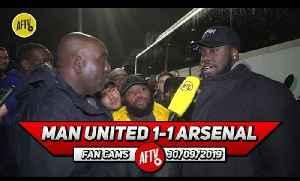 Man United 1-1 Arsenal | The Linesman Almost Robbed Aubameyang! (Da Mobb) [Video]