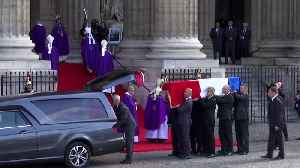 World leaders gather for funeral of France's Jacques Chirac [Video]