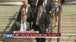 News video: Chris Collins to enter guilty plea in insider trading case