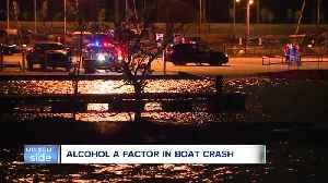 Alcohol a factor in boat crash near Edgewater Marina [Video]
