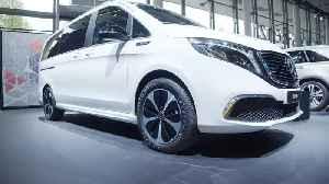 IAA 2019 Mercedes - World Premiere of the Mercedes Vision EQS [Video]