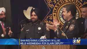 News video: Funeral, Sikh Ceremony Scheduled For Slain Texas Deputy