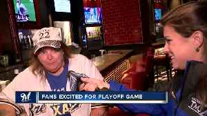 'We are going to win on Tuesday': Brewers fans look forward to Wild Card Game [Video]