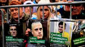 Thousands rally in Moscow to demand release of jailed protesters [Video]