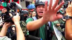 Violence Grips Hong Kong's Pro-Democracy Protests Ahead Of National Day [Video]