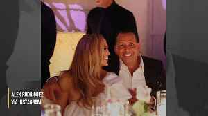 Jennifer Lopez and Alex Rodriguez celebrate upcoming nuptials at engagement party [Video]