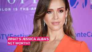 How Jessica Alba went from America's sweetheart to #bosslady businesswoman [Video]