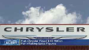 Fiat-Chrysler Fined $40 Million For Inflating Sales Figures [Video]