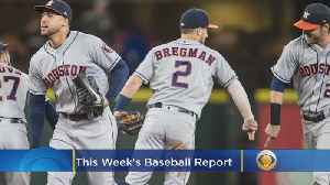 News video: Baseball Report: MLB Playoffs, Maddon Out In Chicago, Alonso Rookie Record
