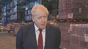 UK PM Johnson denies journalist's groping allegation [Video]