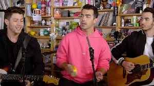 Jonas Brothers Stop by NPR Offices to Perform for NPR Tiny Desk Concert | Billboard News [Video]