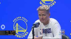 Warriors Host Media Day At Chase Center In San Francisco [Video]
