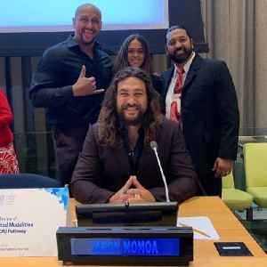 Jason Momoa Makes UN Climate Change Address [Video]