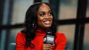 """Rachel Lindsay Loves Re-Watching The Moment She Saw Bryan On """"The Bachelorette"""" [Video]"""