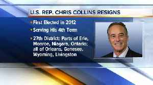 Rep. Collins resigns, will plead guilty to insider trading charges [Video]