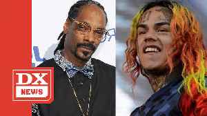 Tekashi 6ix9ine Allegedly Thinks Rappers Like Snoop Dogg Are Hating & Jealous [Video]