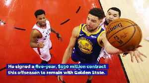 Klay Thompson Out Through All-Star Break After ACL Surgery [Video]