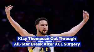 The Update On Klay Thompson's ACL Recovery [Video]