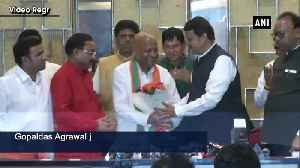 Congress MLA joins BJP ahead of Maharashtra polls [Video]