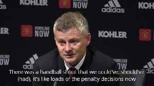 Solskjaer: Manchester United players were affected by linesman flag [Video]